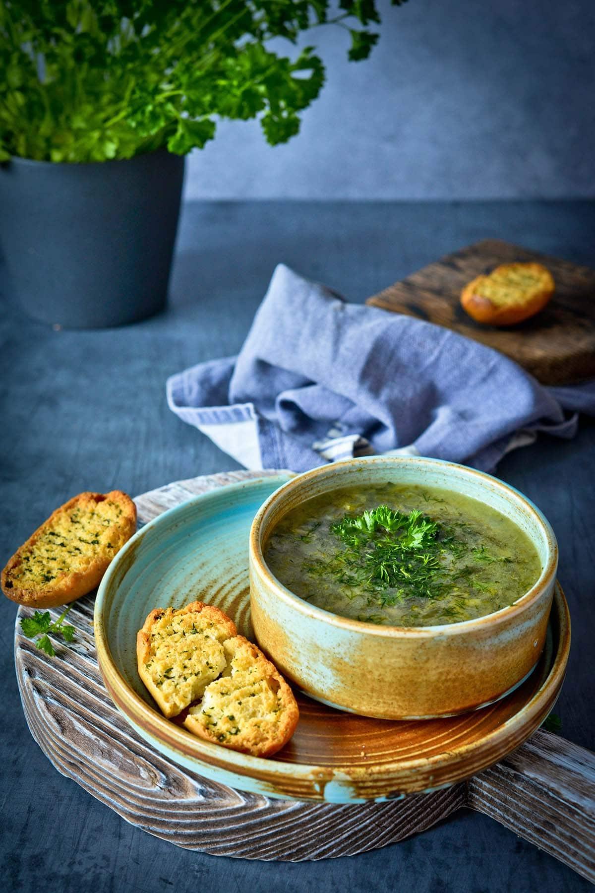 zuppa detox con farro perlato